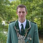 Diözesanjungschützenprinz Jonas Crames